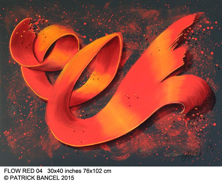 Flow-red-04-30x40-76x102w